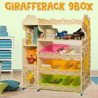 GIRAFFE RACK 9 BOX