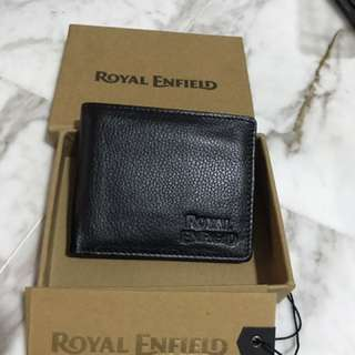 Brand new Royal Enfield leather wallet
