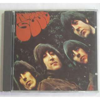 The Beatles Rubber Soul 1965 EMI Records Ltd. English CD CDP 7 464402 Made In West Germany