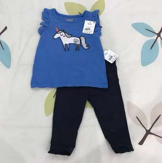 NEW next set 6-9m