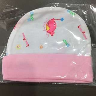 Newborn Baby Infant Cap (Pink Color)