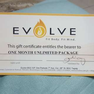 Evolve Yoga BGC - 1 month UNLIMITED classes