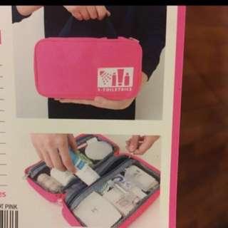 🆕travel bag pink
