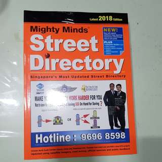 Street directory 2018 edition