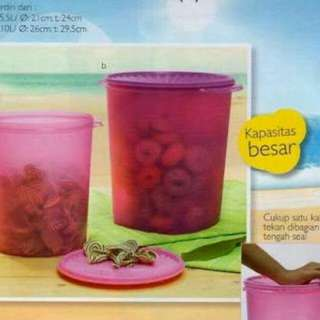 Toples container