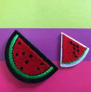 Bn Watermelon iron on patch