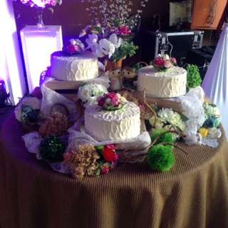 💖RUSTIC WEDDING CAKE💖
