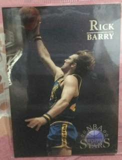 NBA Topps Stars Rick Barry card