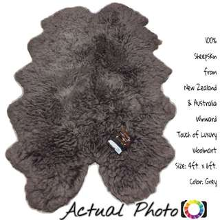 Winward Real Fur 100% Sheepskin Woolmart Carpet Rug