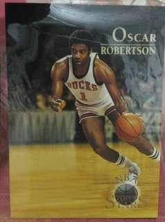 NBA Topps Stars Oscar Robertson card