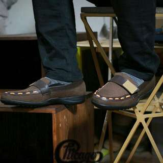 Sbh. Asli Import Sepatu Slop Chicago Originall Hand Made Kuli.size 38/43