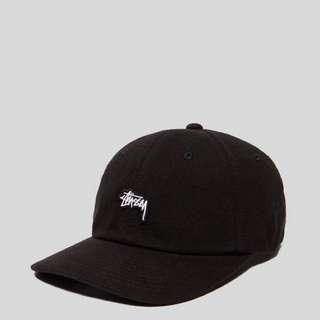 Stussy AIdan Ellazar cap men&womrn 潮帽中性易襯黑色Stussy帽