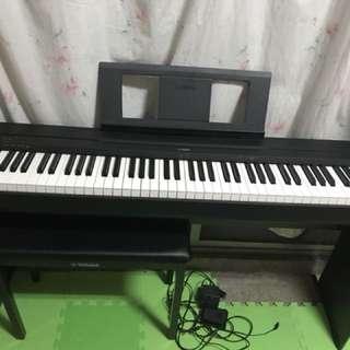 Yamaha p-45電鋼琴