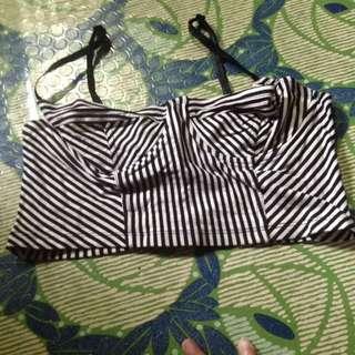 Bralette stripes/tube