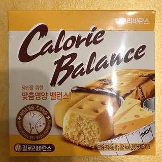 韓國直送 Calorie Balance 芝士味曲奇