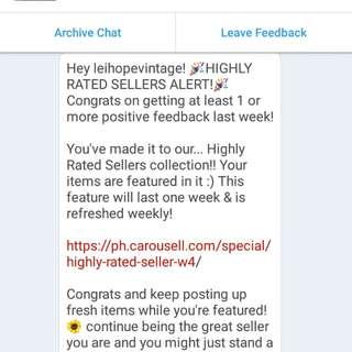 Thank you Buyers!