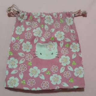 Hello Kitty Drawstring Pouch
