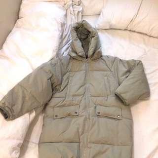 保暖長外套