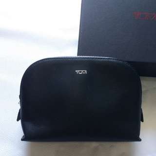 Tumi Leather Pouch Bag