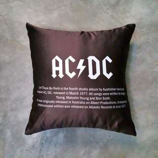 AC/DC Throw Pillow Cushion Cover