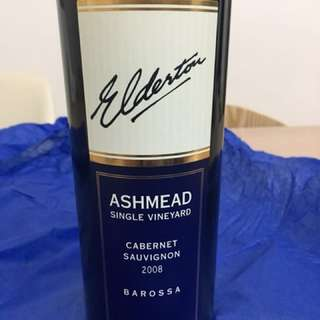 2008 Elderton Ashmead Single Vineyard Cabernet Sauvignon, Barossa, Australia