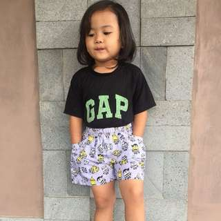 boxer kids minion grey