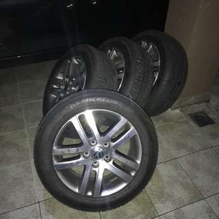 VW Golf mk6 Tsi original rims