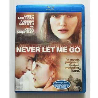 Never Let Me Go Blu Ray