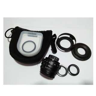 CCtv Lens 35mm f1.6 APSC V2 - E mount