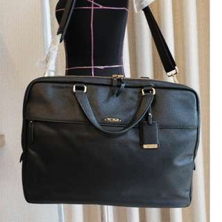 Tumi Voyageur Leather Westport Slim Briefcase