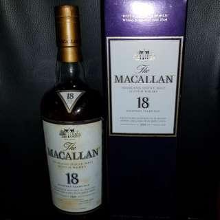 1989 Macallan 18年 威士忌 whisky whiskey 山崎 響 佘市 輕井澤 ichiro 羽生