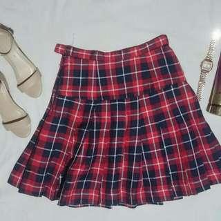 Korean Plaid Skirt