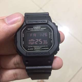 Gshock DW-5600 military