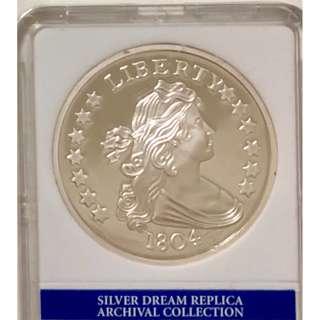 1804 年硬幣再鑄版