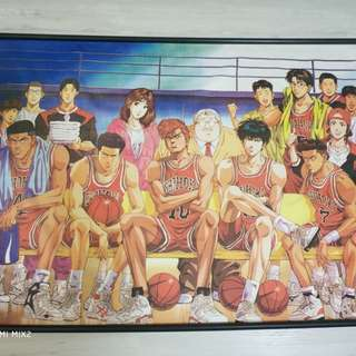 Slam Dunk Limited Edition Poster