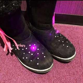 [8-9 yo] Sketchers Twinkle Toes Winter Boots