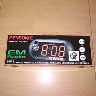 Pensonic Smart Clock FM Radio