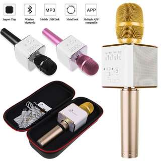 Q9 Bluetooth Karaoke Mic Portable Wireless loud