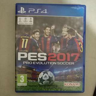 Pes 2017 original for ps4, cd, kaset, playstation
