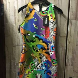 Versace 全新女裝連身裙 42碼 未剪牌
