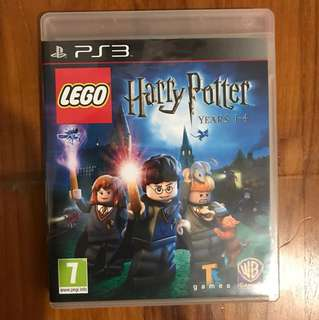 Lego Harry Potter PS3 game