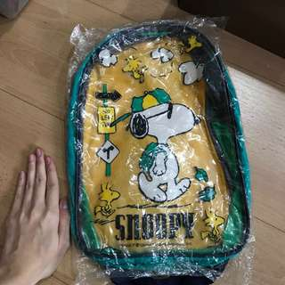 Transparent Snoopy backpack
