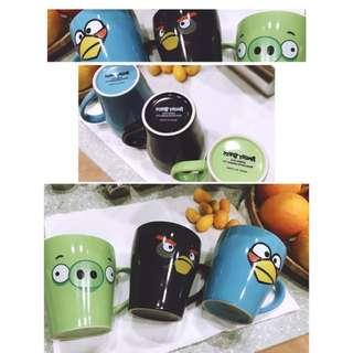 🚚 Angry Bird Mug 憤怒鳥馬克杯 3款