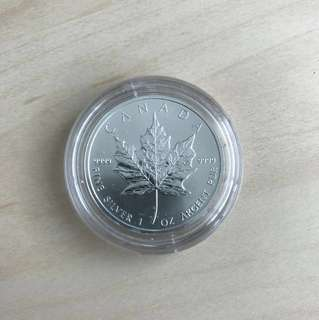 Canada Silver Maple Leaf Coin 2011
