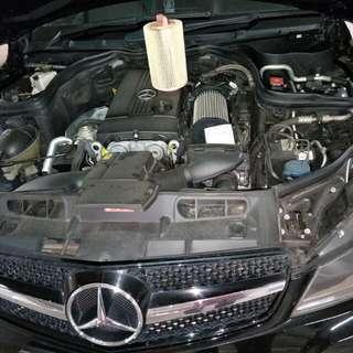 Mercedes C180 Kompressor Hurricane Air Filter