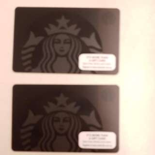 Limited Edition Starbucks Gift Card