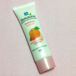 BN Shokubutsu Brightening Facial Wash