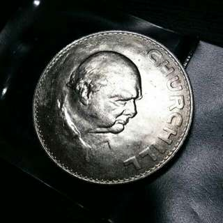 邱吉爾 Sir Winston Churchill Commemorative Coin
