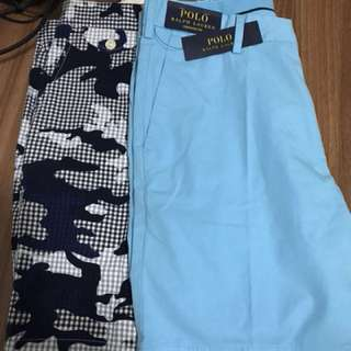 Ralph Lauren Polo short trousers (bundle sale for 2)