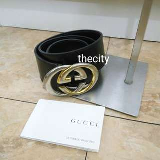 AUTHENTIC GUCCI HIGH-WAIST BELT - 85 cm